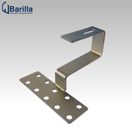 Pan Tile Bracket (incl. M8x20 Bolt & Serrated Nut)